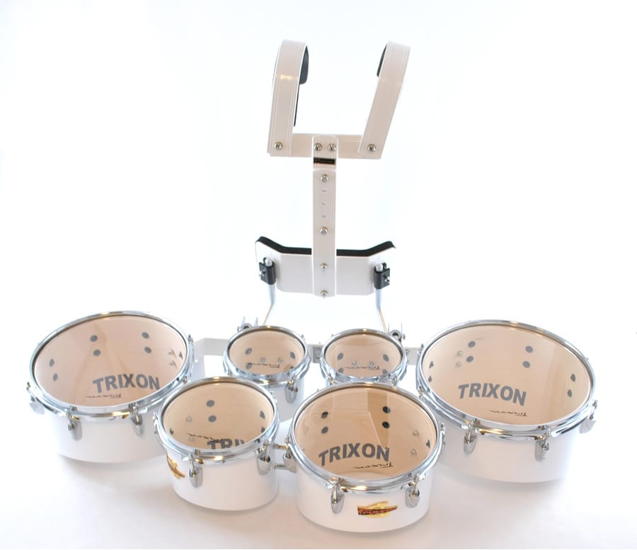 Field Series Tenor 6 Piece Marching Toms