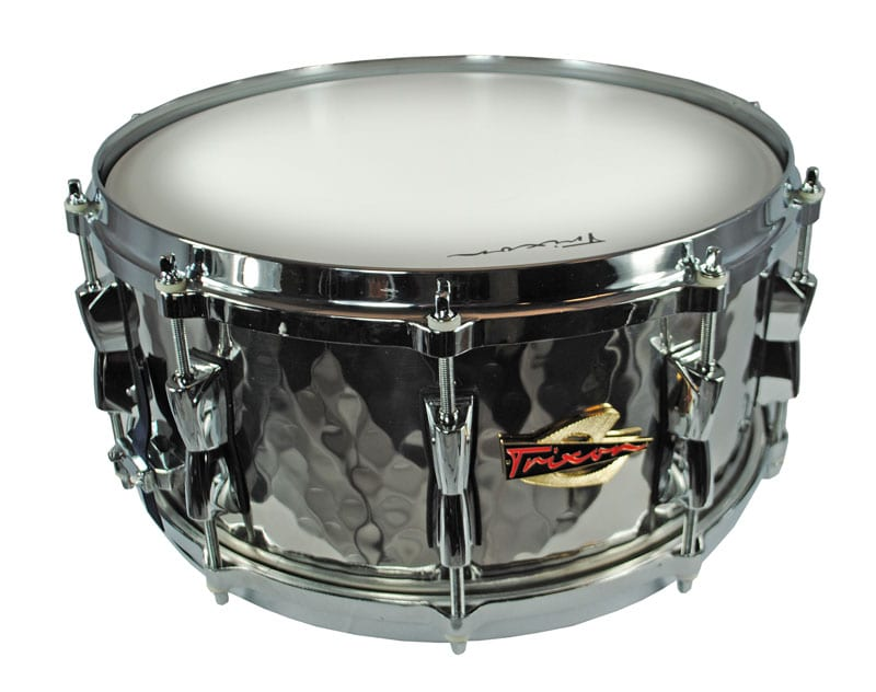 Trixon Solist Hand-Hammered Steel Snare Drum