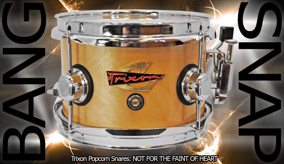 Trixon Elite Popcorn Snare – Natural