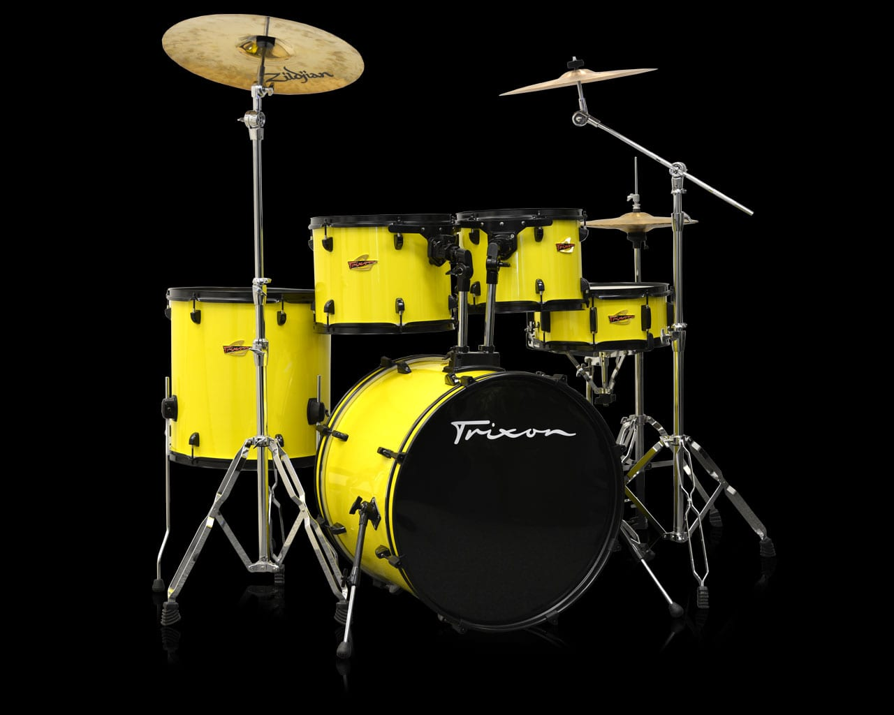 Trixon 5-Piece Birch Kit – Yellow Jacket