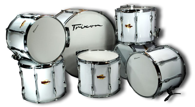 Trixon Field Series II Marching Drums – King Set