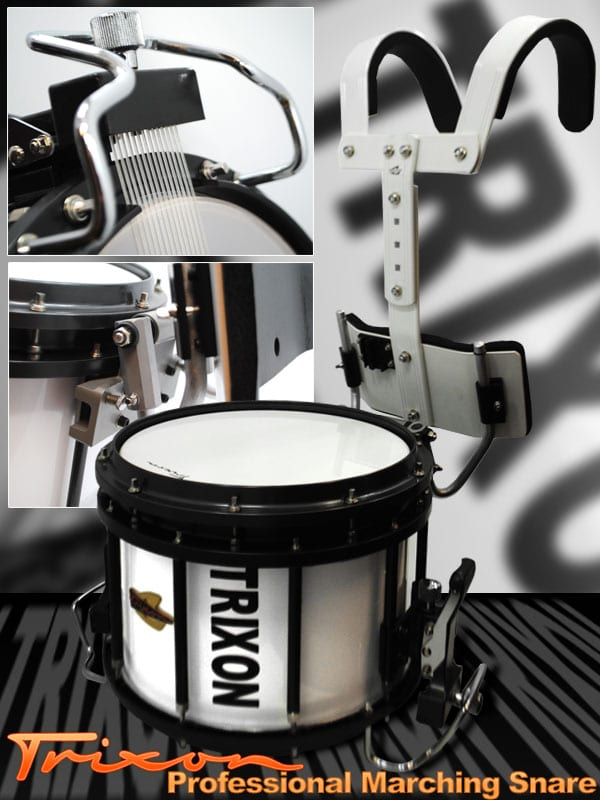 Trixon Professional Marching Snare