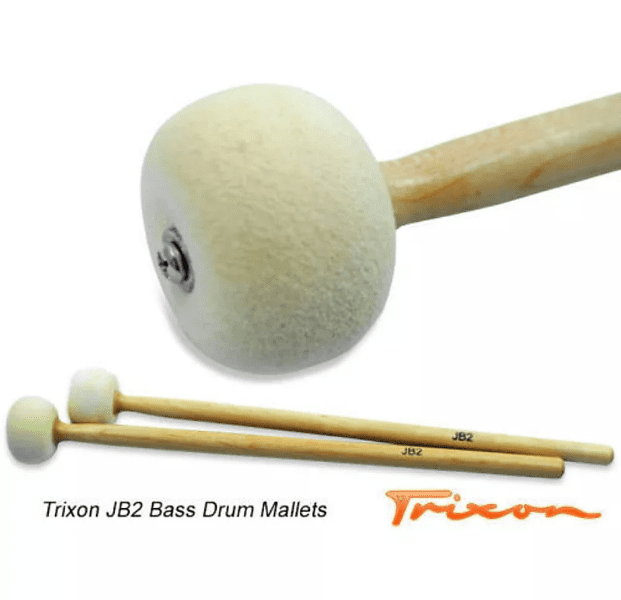 JB2 Bass Drum Mallets – Medium