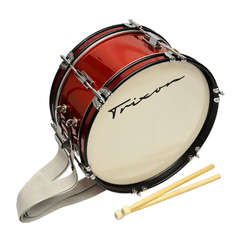 Junior Marching Bass Drum – Red