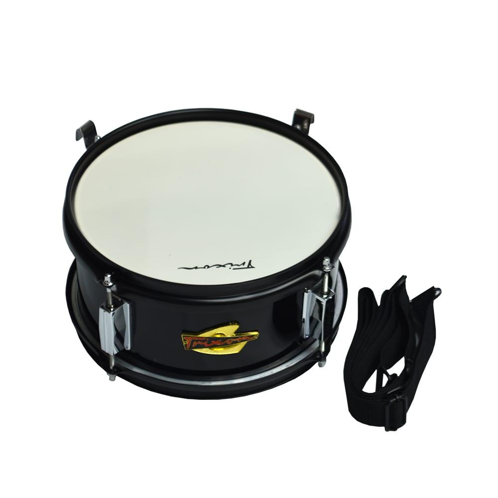 Junior Marching Snare Drum – Black