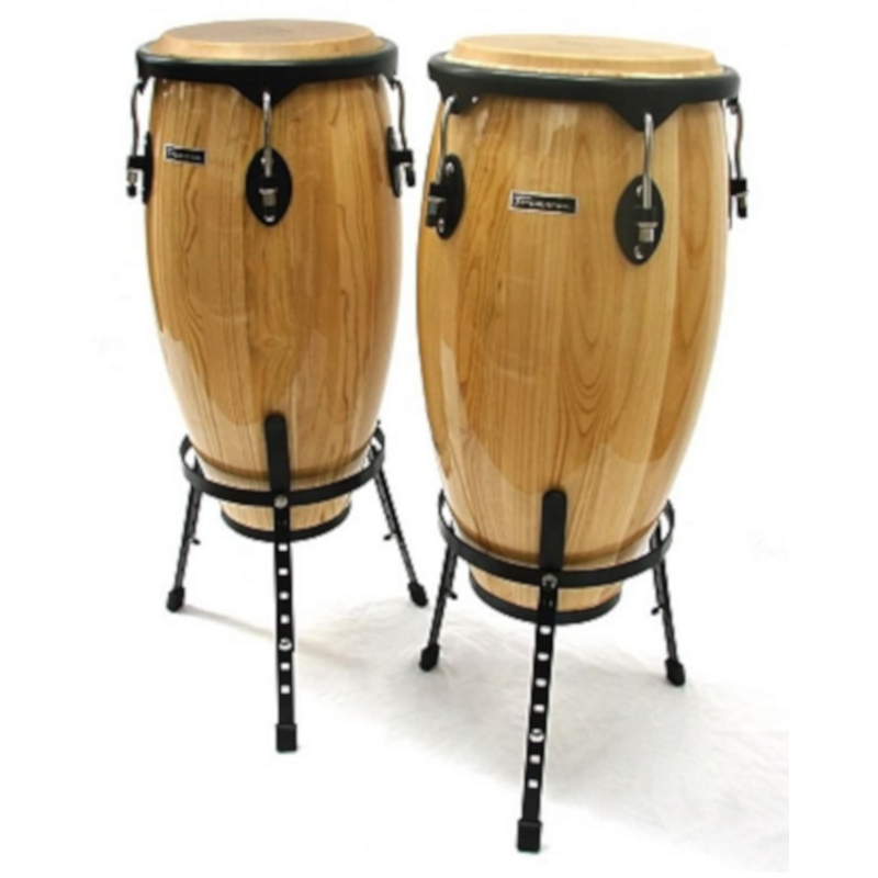 Conga Set with Stands - Large