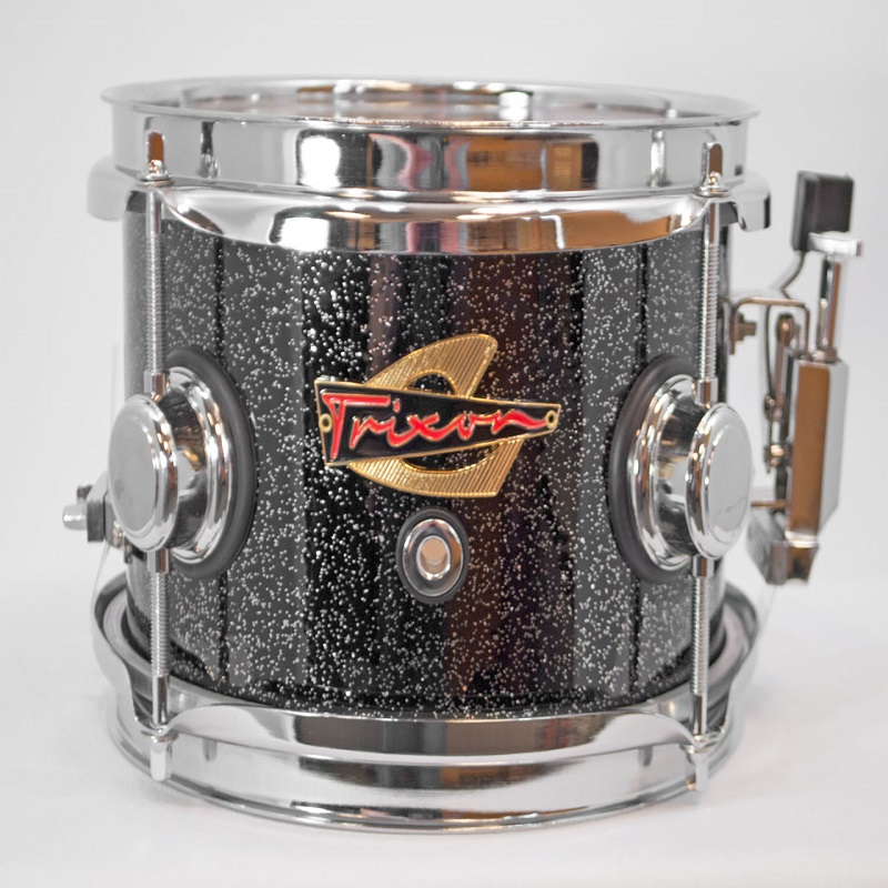 Elite Popcorn Snare Drum - Black Sparkle