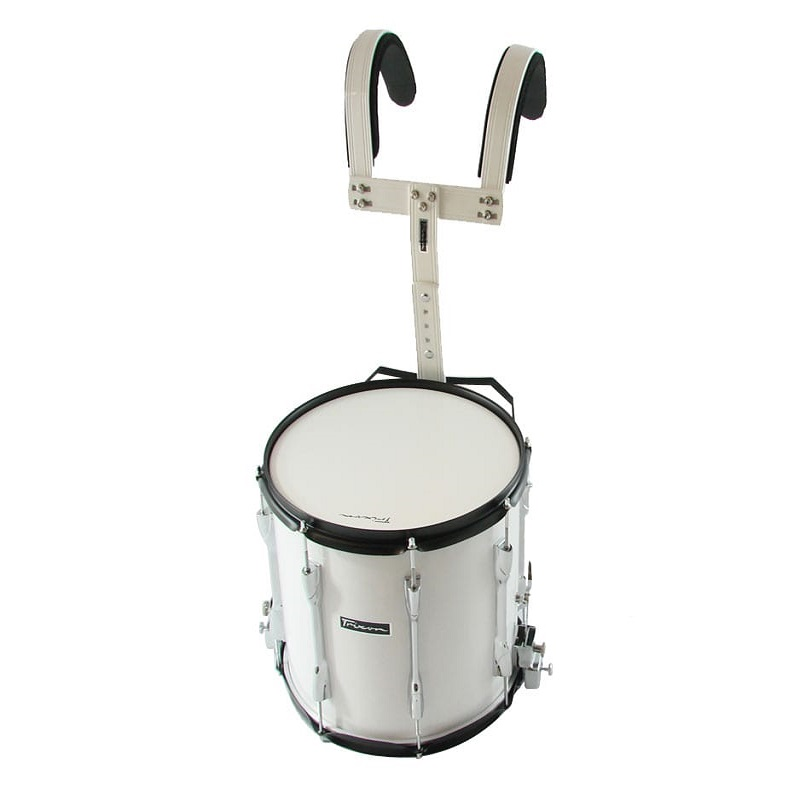 Trixon Field Series III Marching Snare Drum 14x12 - White