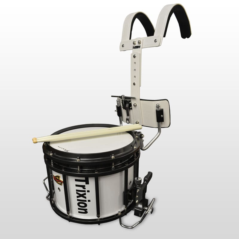 Trixon Field Series Marching Snare 13x10 - White