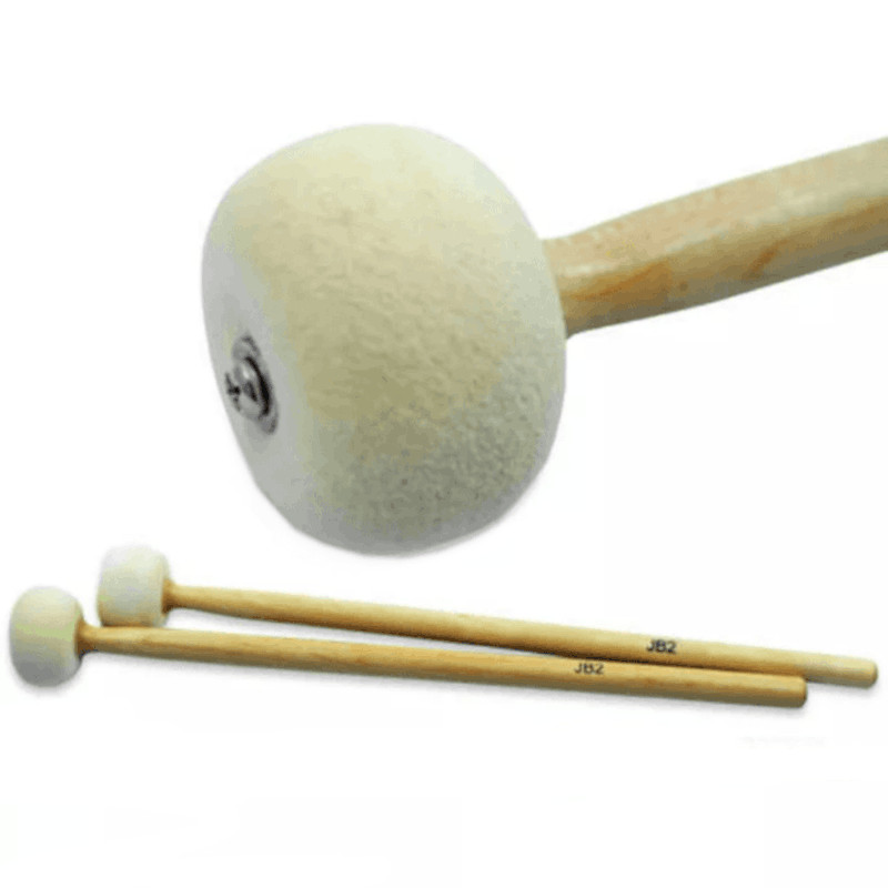 Trixon JB2 Bass Drum Mallets - Medium