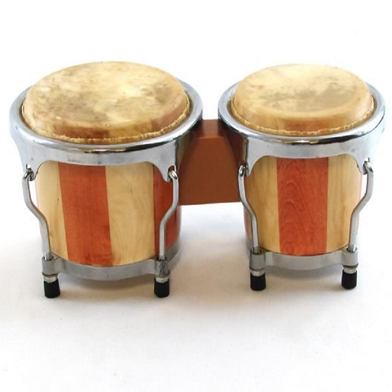 "Mini Striped Bongo Set - 4"" and 4.5"""