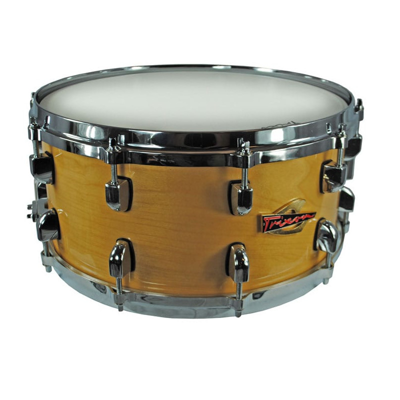 Trixon Soloist Elite Snare Drum Die Cast - Natural