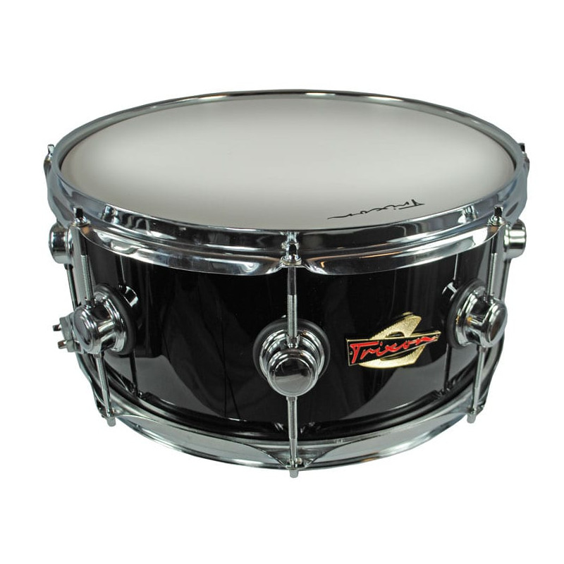 Trixon Soloist Elite Snare Drum Triple Flanged Hoops - Black