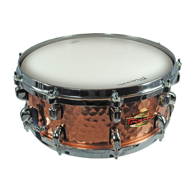 Solist Hammered Copper Snare Drum