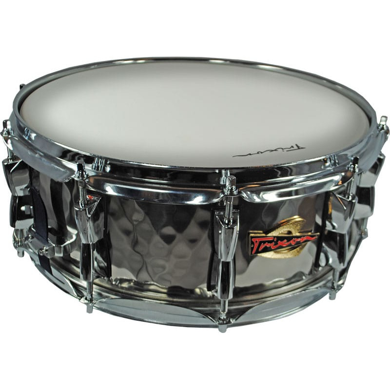 Solist Elite Stainless Steel Snare Drum - Hand Hammered