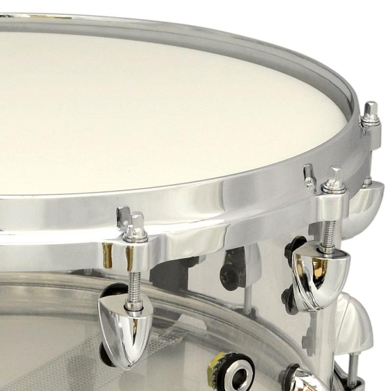 Trixon Solist Acrylic Snare Drum - Clear