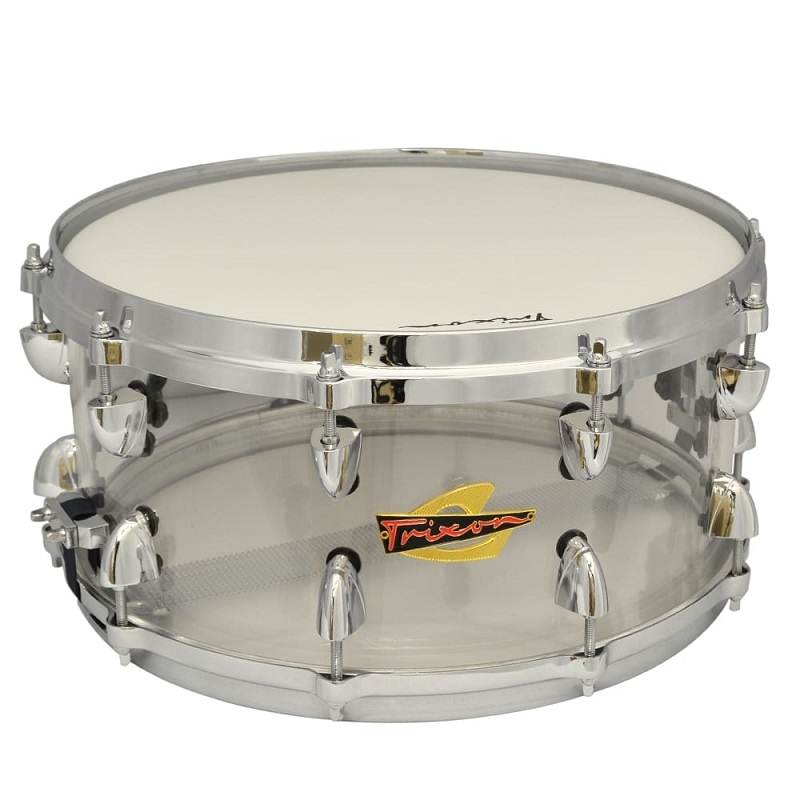 Solist Acrylic Snare Drum - Clear