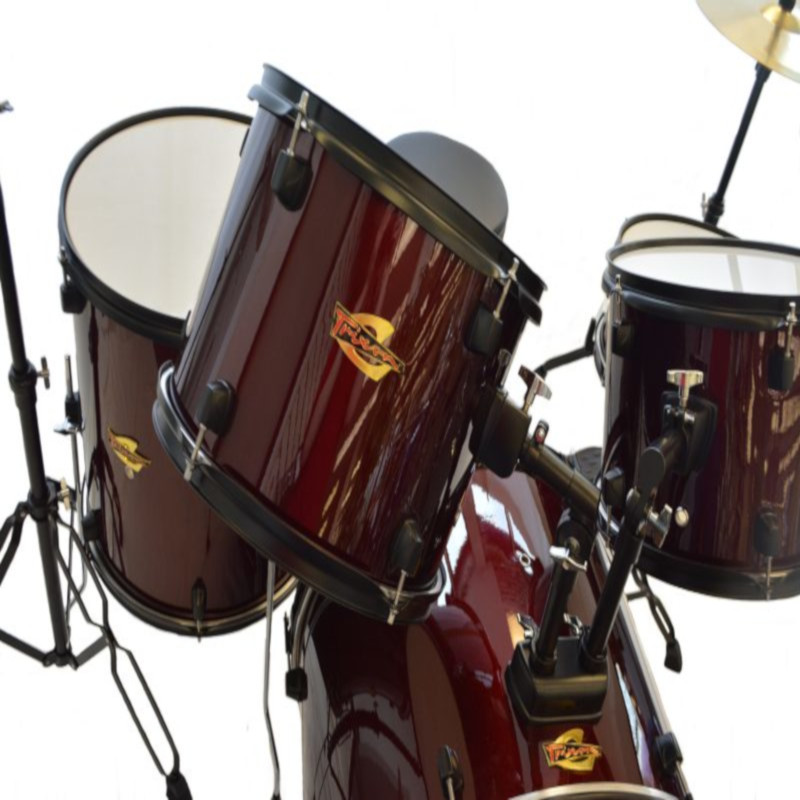 Luxus 100 5 Piece Drumset - Wine Red