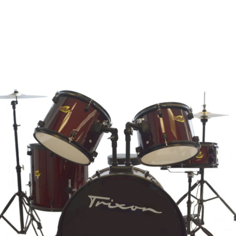 Trixon Luxus 100 5 Piece Drumset - Wine Red