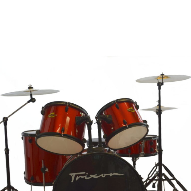 Trixon Luxus 100 5 Piece Drumset - Red Sparkle