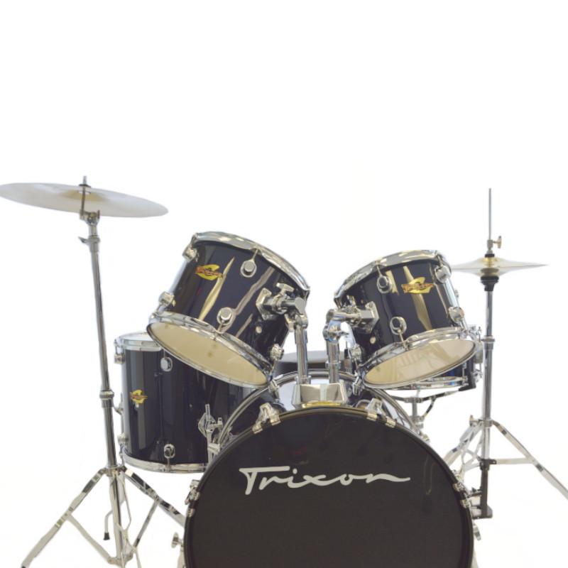 Trixon 5 Piece Luxus 200 Drumset - Midnight Navy Blue