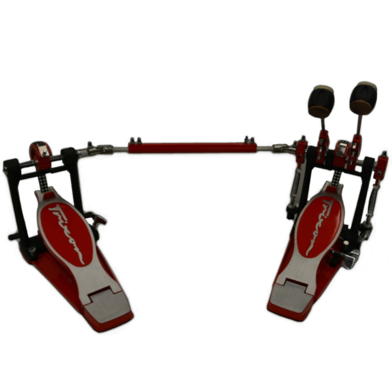 King Series Double Bass Pedal - Red