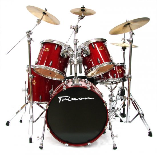 Solist Birch Drumset - Red