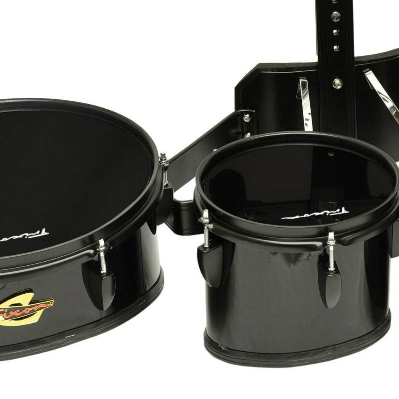 Field Series II Marching Toms - Set of 4 - Black