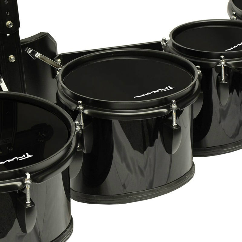 Trixon Field Series II Marching Toms - Set of 5 - Black
