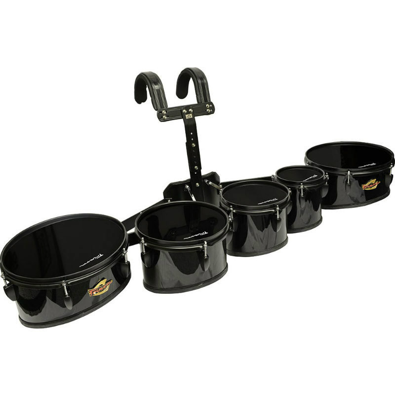Field Series II Marching Toms - Set of 5 - Black