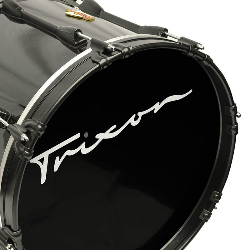 Trixon Field Series Marching Bass Drum 18x14 - Black