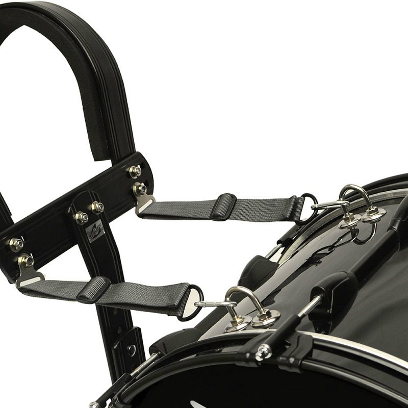 Field Series Marching Bass Drum 20x12 - Black