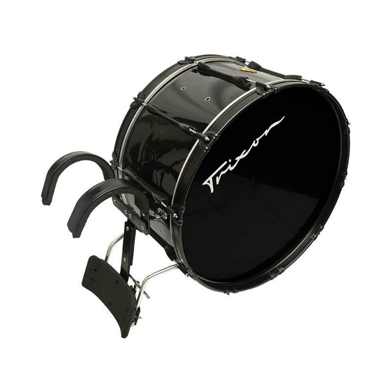 Trixon Field Series Marching Bass Drum 26x14 - Black