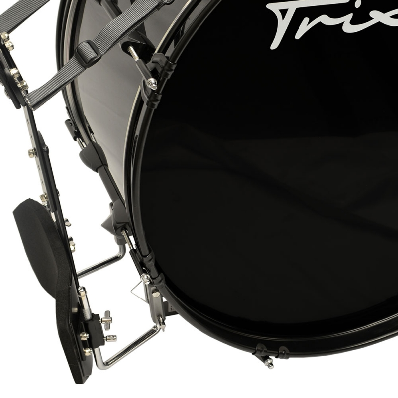 Field Series Marching Bass Drum 28x12 - Black