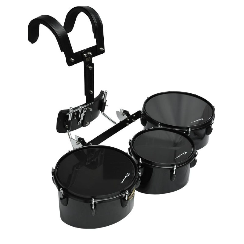 Field Series Pro Marching Toms - Set of 3 - Black