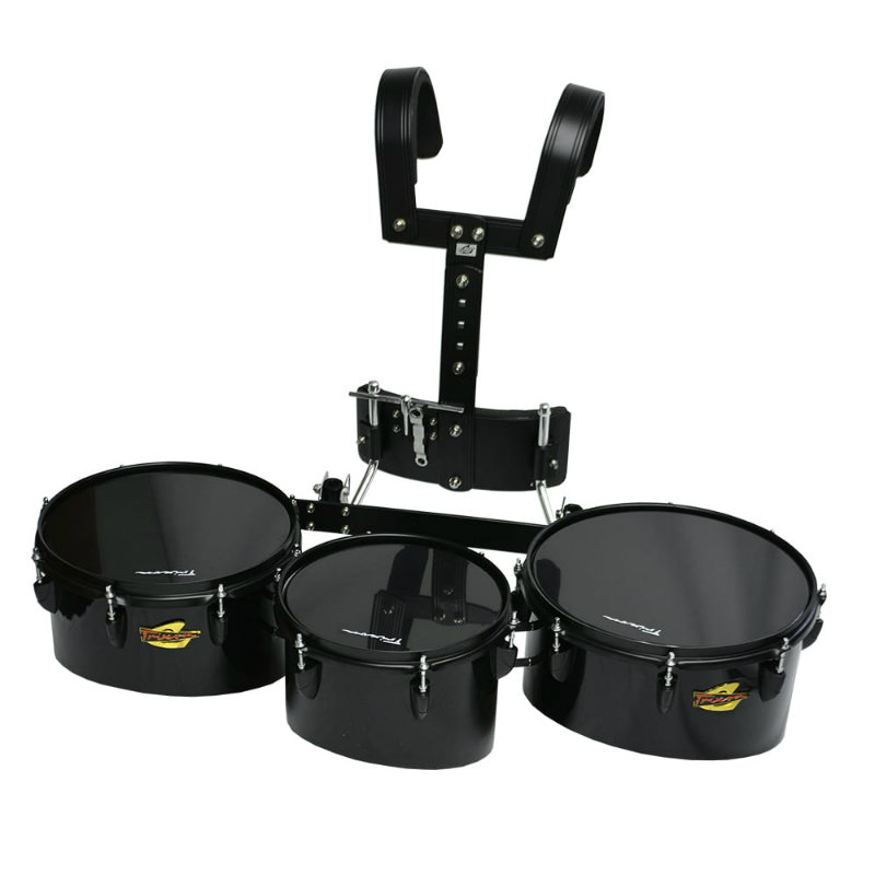 Trixon Field Series Pro Marching Toms - Set of 3 - Black