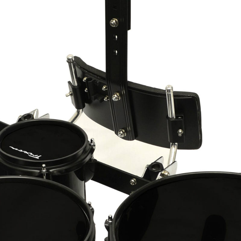 Field Series Tenor Marching Toms - Set Of 5 - Black