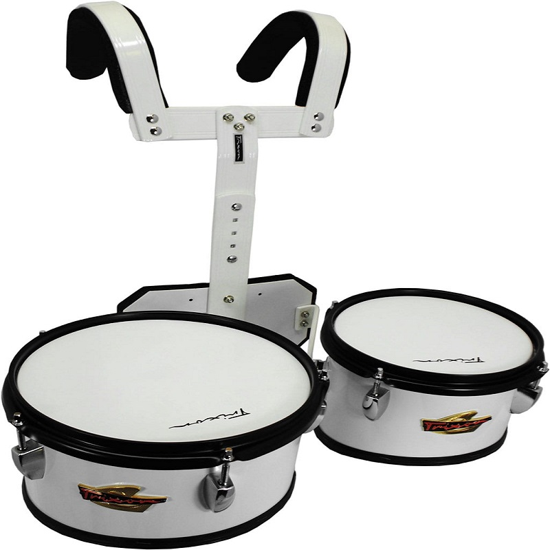 Field Series II Marching Toms - Set Of 2 - White