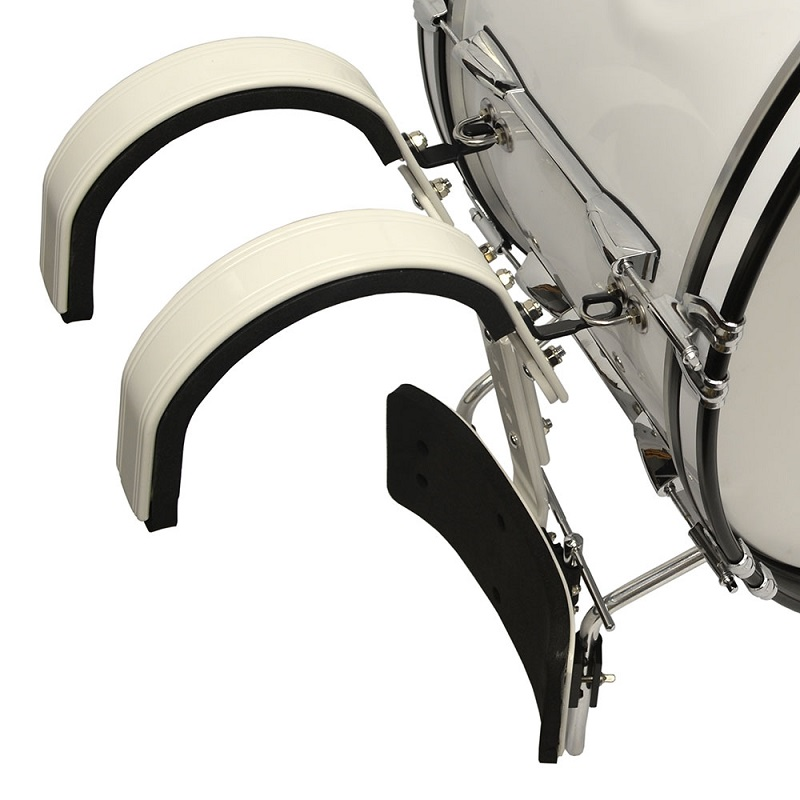 Field Series Marching Bass Drum 28x14 - White