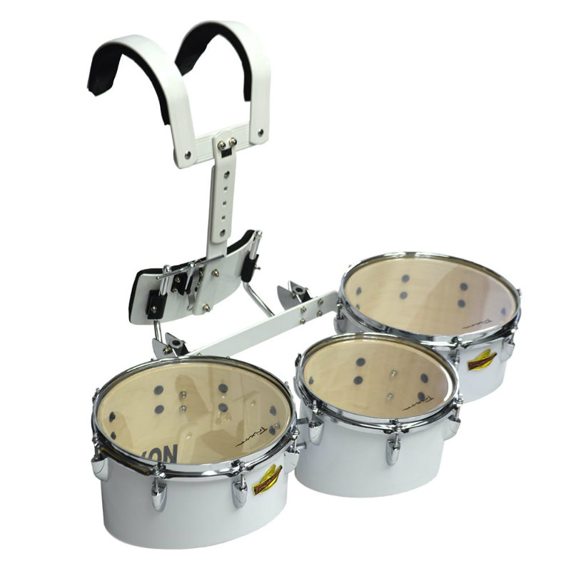 Field Series Pro Marching Toms – Set Of 3 – White