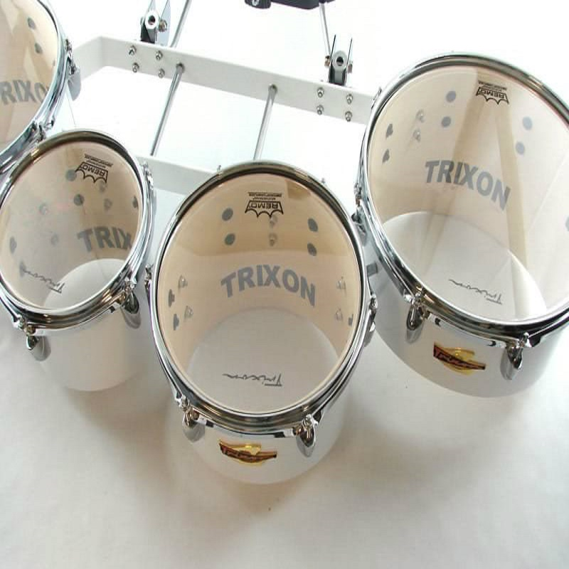 Field Series Tenor Marching Toms - Set Of 4 - White