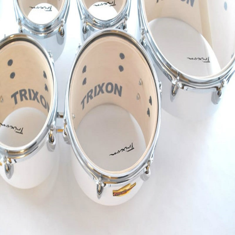 Field Series Tenor Marching Toms - Set Of 6 - White
