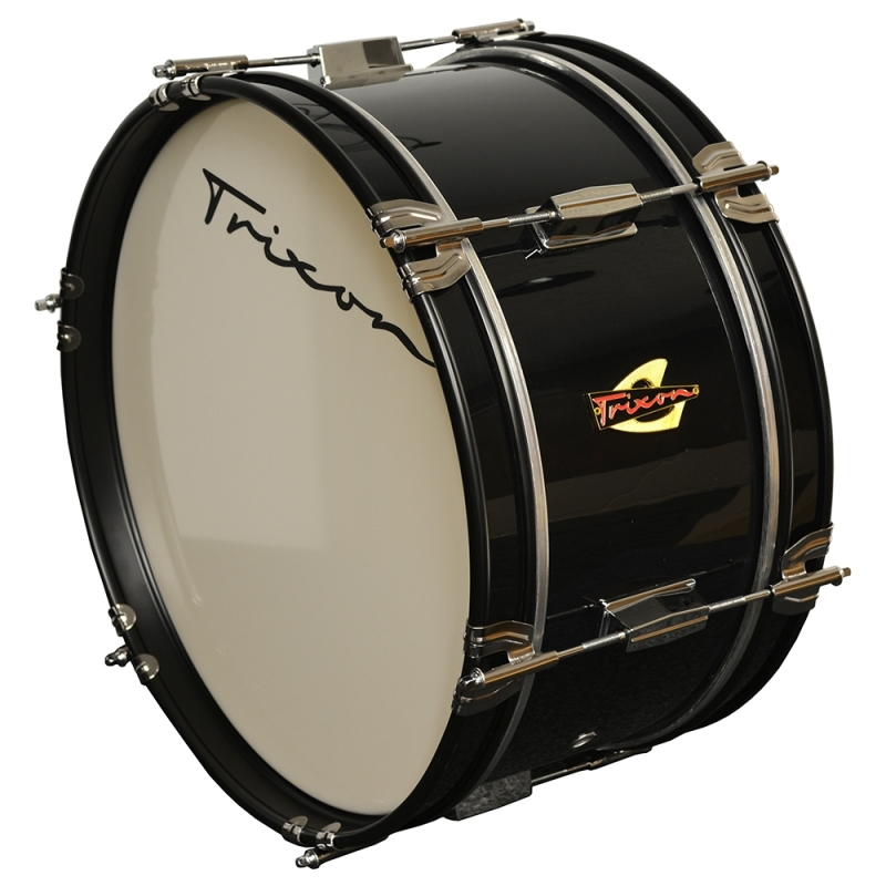 Trixon Junior Marching Bass Drum - Black