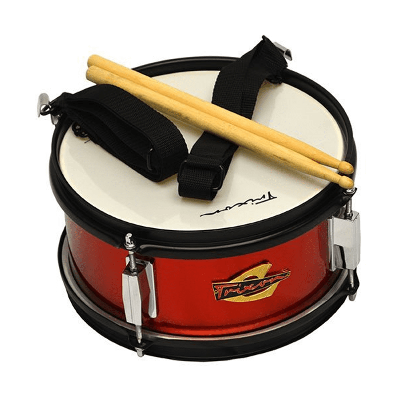 Junior Marching Snare Drum - Red Sparkle