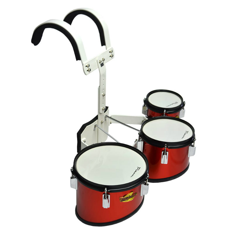 Trixon Junior Marching Toms - Set Of 3 - Red
