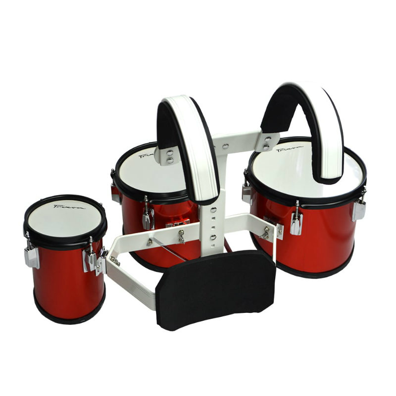Junior Marching Toms - Set Of 3 - Red