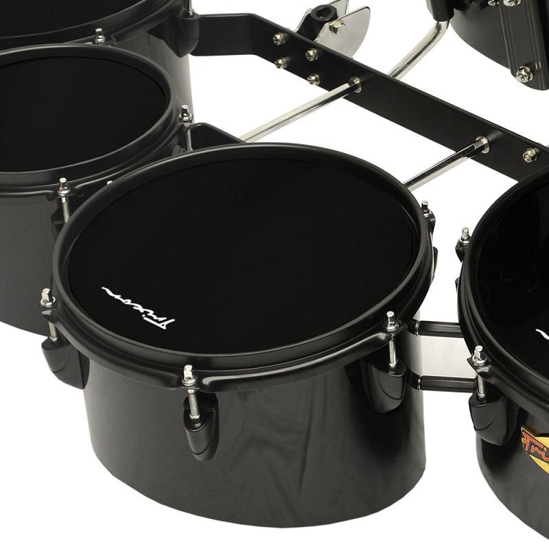 Pro Marching Toms - Set of 4 - Black