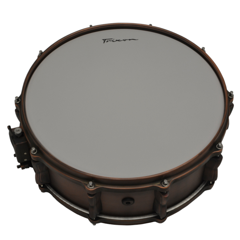 Solist Brushed Copper Snare Drum 14