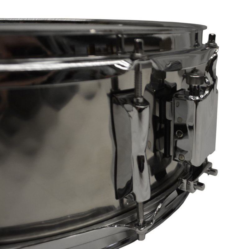 Solist Hand Hammered Stainless Steel Snare Drum 14