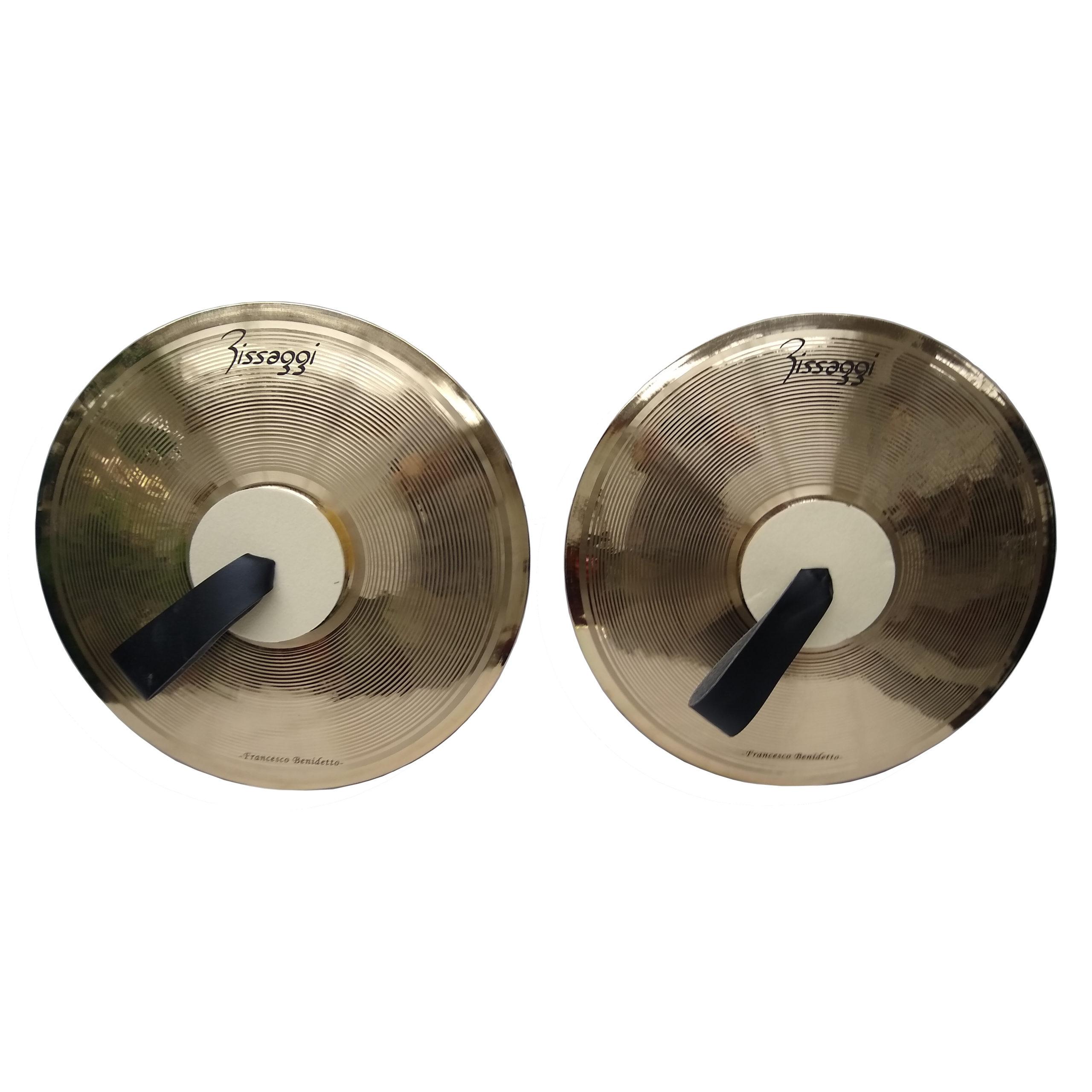 "Fissaggi Field Series Marching Cymbals 16"""